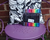 Colour your own cushion cover random Marvel