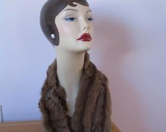 1940's Fox Fur Stole, 5 Fox Shawl