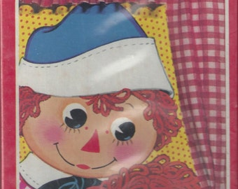 Raggedy Ann and Andy Vintage Paper Dolls, 1978