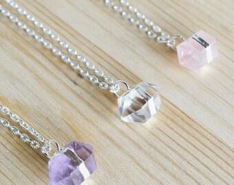 Prism Quartz Necklace