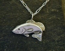 Unique fish fry related items etsy for Silver bass fish