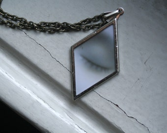 L'Inconnue de la Seine Necklace / Art Jewelry / The Diamond Eye