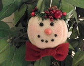 BICOFG, Christmas, Snowman, Ornament,
