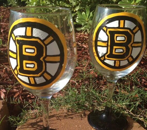 Hockey Wine glass
