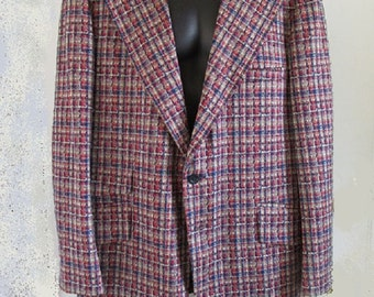 1970s Loud Sports Coat from Montgomery Ward / Anchorman / car salesman / L