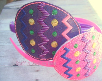 Decorated Easter Egg Slide On Accessories