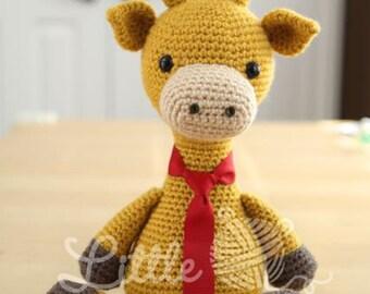 Amigurumi Crochet Pattern - Stanley the Giraffe