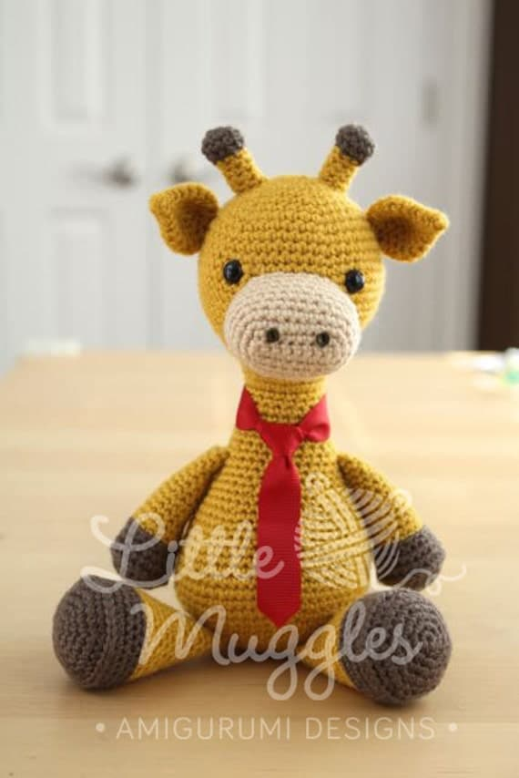 Amigurumi Crochet Pattern Stanley the Giraffe