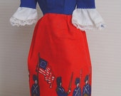 Barbie Doll Bicentennial Dress- Best Buy Exclusive Collectible 1976- #9158