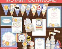 Wizard of Oz Party DIY Printable Kit - INSTANT DOWNLOAD -