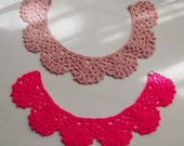 Crochet Pattern Peter Pan Collar  PDF - 2 sizes: Children\Teen and Woman - Instant DOWNLOAD