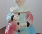 Vintage Clown cookie jar American Bisque