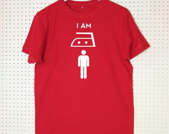 I Am Iron Man Superhero Adult T Shirt