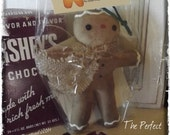 "Primitive Gingerbread Ornament ""The Perfect Man"" E pattern"