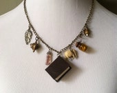 Handmade 'Lucky Talisman' Assemblage Necklace