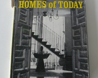 vintage decorating book, Mexican Homes of Today, 1987 dustjacket from Diz Has Neat Stuff 2