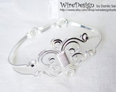 Wire Bracelet - The elegant twin Masterpiece