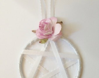 Pentagram Wall Hanging, Pentagram Dream Catcher