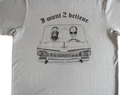 x-files 2pac & ALIEN I want 2 BELIEVE t-shirt