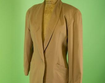 Vintage Escada Cashmere and Wool Blazer