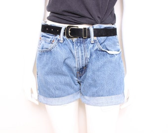 MOVING SALE - Vintage Levi's Denim Cuffed Jean Shorts, Perfect for All Summer Long