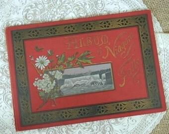 Album of Niagara Falls 1892 Niagara Chisholm's Complete Guie to the Grand Cataract