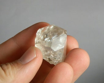 Loose Topaz Crystal 134ct Colorado Natural Rough Topaz Facet and Display Mineral As Mined in Tarryall Mountains Colorado DanPickedMinerals
