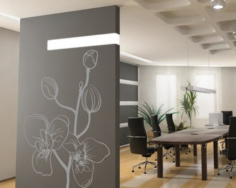 Luxe Orchid Removable Wall Decal