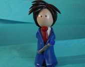 Doctor Who, 10th Doctor, David Tennant, Holiday Ornament, Figure