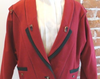 Vintage Lodenfrey Austrian Cropped Jacket