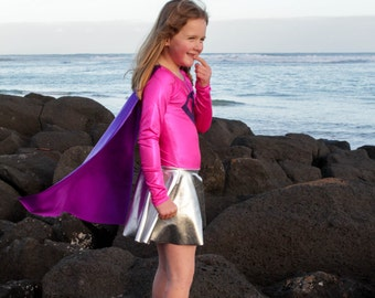 Superhero Costume Pattern and leotard dance costume pdf sewing pattern
