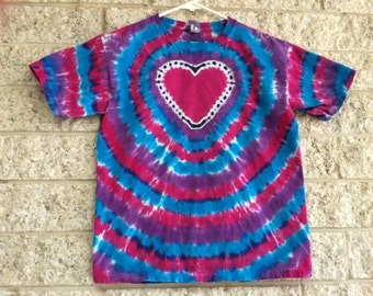 Tie Dye Heart, Child Medium