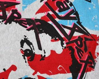 XRAY SPEX Punk Jumper - Punk Sweater  - Bondage Up Yours - Poly Styrene Sweatshirt -Sm
