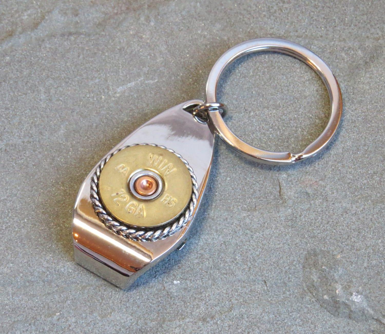 12 gauge shotgun keychain bottle opener. Black Bedroom Furniture Sets. Home Design Ideas
