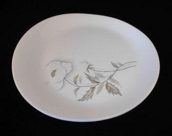 Vintage Universal Potteries Fascination 'Alaskan Poppy' Platter