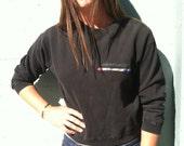 80s ESPRIT DE Corp Pullover Crop Sweatshirt