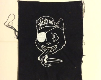 Dream On // Cat Punx Patch
