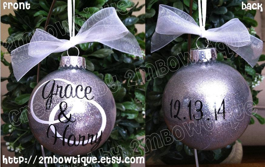 Wedding Gift Ornament - 2MBowtique