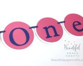 Vintage Airplane One Banner    Airplane Baby Shower    Airplane 1st Birthday    One Airplane Banner    Rosette Banner