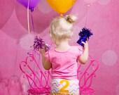 Birthday Bloomer, Birthday Diaper Cover, Cake smash set, Chevron Diaper Cover, Baby Diaper Cover, Girls Diaper Cover, Girls Birthday Set