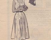 1960s Sun Dress & Bolero Jacket Pattern Mail Order 9058 Bust 42