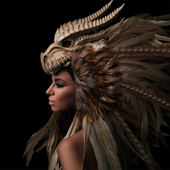 Warrior Headdress For Sale Warrior Feather Headdress
