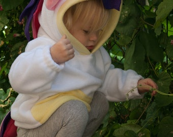 BABY & TODDLER Unicorn Hoodie, Costume, Vest, Jacket, Hand-made, Cosplay
