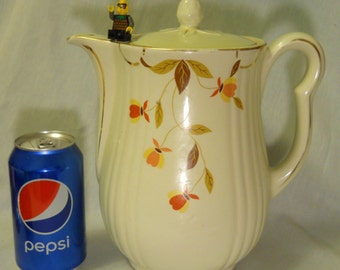 Jewel Tea, Autumn Leaf, Coffee Serving Pot, Mary Dunbar, Vintage