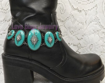 It's All About The Bling Boot Jewelry , Boot Bracelet, Boot Bling, Boot Jewelry, Cowgirl Boot Bling, Boot Band Bracelet
