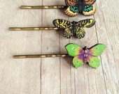 Butterfly Bobby Pin Insect Hair Accessory