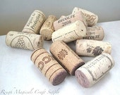 24 Natural Wine Corks. Small Lot 2 Dozen Recycled Used Wine Corks. EcoFriendly, Reclaimed Arts & Crafts Supply - 24 Assorted Corks