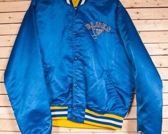 St. Louis BLUES Hockey Starter Jacket Size XL