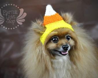 Pet Candy Corn Hat (XS-XL)