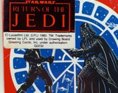 Star Wars Return of the Jedi Birthday Party Invitations Unopened Pack of 8 Drawing Board Greeting Cards 1983